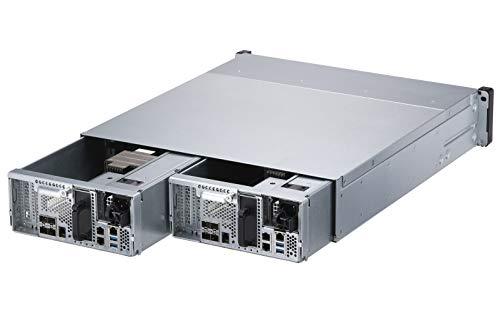 QNAP ES2486dc-2142IT-96G 24-Bay Enterprise ZFS NAS SAS 12G/6G Xeon D-2142IT 96GB RAM 7-LAN 4 SFP+ 3 RJ45 für Each Controller
