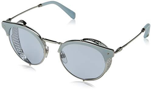 Valentino 0VA2008Z 300672 51 Gafas de sol, Plateado (Silver/Azure), Mujer