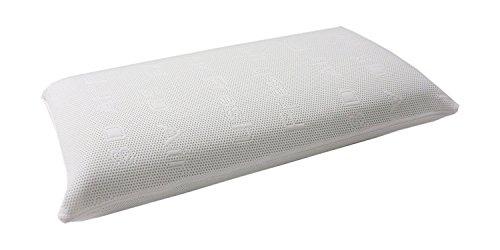 Dibapur ® Visco Memory Nackenstütz Kopfkissen mit 3D Air Fresh Bezug 40cm x 70cm x 14cm Orthopädisches Kissen Nackenkissen