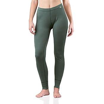 MERIWOOL Womens Merino Wool Base Layer Thermal Pants Teal