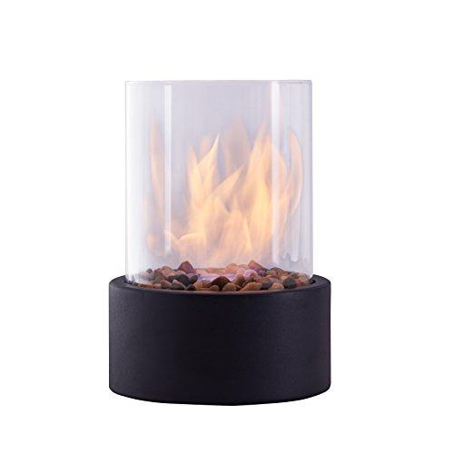 Danya B. Indoor/Outdoor Portable Tabletop Fire Pit – Clean-Burning Bio Ethanol Ventless Indoor Fireplace - Small