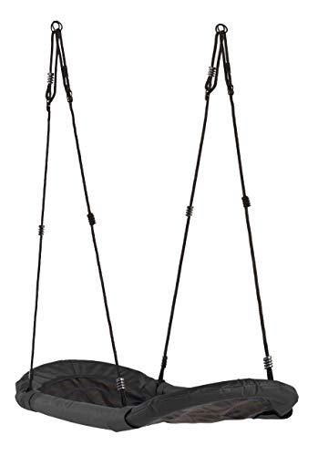 Hörby Bruck Nestschaukel lang für Kinder (Länge 167 cm, Farbe schwarz, für zwei oder mehr Kinder, CE Kennzeichnung) 4151