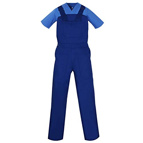MISEMIYA - Peto con Tirantes Uniformes Laboratorios Mono Uniformes Mono DE Trabajo - Ref.879-44, Azul