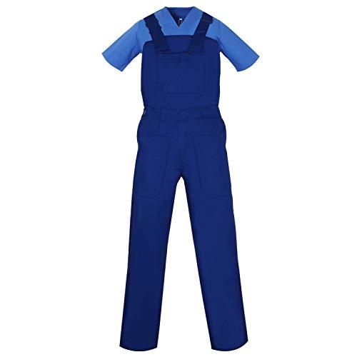 MISEMIYA - Peto con Tirantes Uniformes Laboratorios Mono Uniformes Mono DE Trabajo - Ref.879-38, Azul