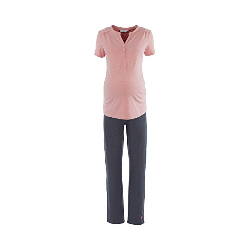 2hearts Pyjama de grossesse et d'allaitement Sweet Dreams pyjama de grossesse pyjama de grossesse, multicolore