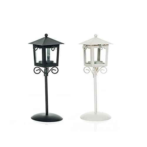 2Pcs Candela Titolari di Ferro Vetro Tealight Candeliere Titolari Candelabri di Cristallo Luce del tè per La Cerimonia Nuziale Anniversario Sala da Pranzo Tavolo del Salotto
