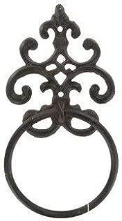 cast iron towel holder