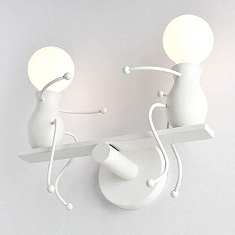 HSY Amerikanischen Land Schmiedeeisen Lampe Schlafzimmer Retro Wandleuchte Gang Lampe Einfache Persnlichkeit Kreative Roboter Wandleuchte