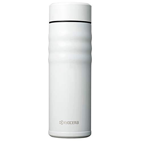 Kyocera Twist Top-Thermoflasche, perlweiß, 500 ml Botella térmica, Acero Inoxidable