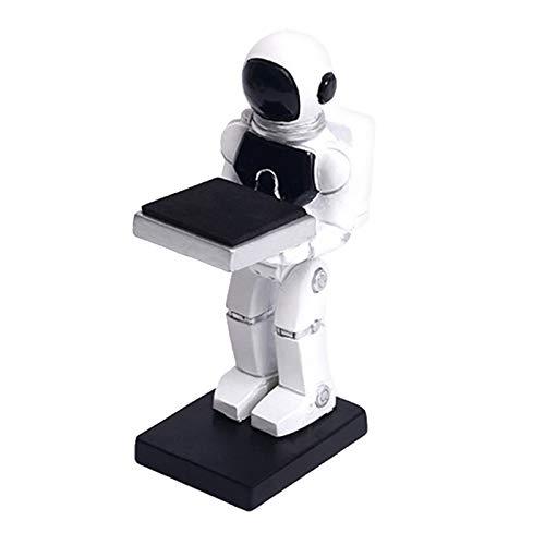 Bonarty Pulsera Resina Reloj Soporte Spaceman Soporte Organizador Almacenamiento Decoración - Hombre Astronauta