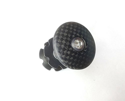A-Head - Tapa de manillar de carbono para manillar de bicicl