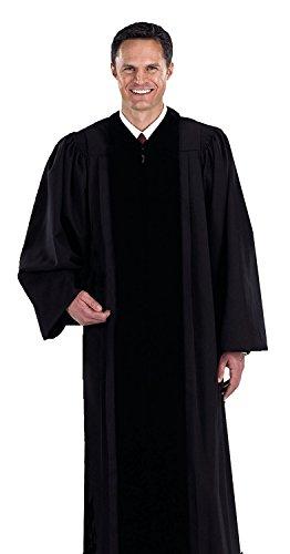 Black Pastor / Pulpit Robe (Medium 55)