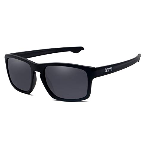 LEIMI Polarized Sport Sunglasses for Men and Women,Ideal for Driving Fishing Cycling...