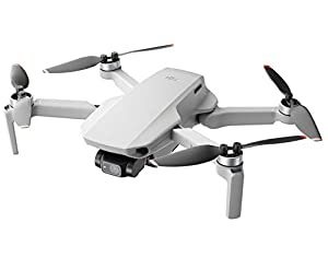 DJI Mini 2 - Ultralight and Foldable Drone Quadcopter, 3-Axis Gimbal with 4K Camera, 12MP Photo, 31 Minutes Flight Time, OcuSync 2.0 HD Video Transmission, Mavic Mini, QuickShots with DJI Fly App