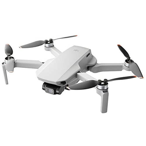 DJI Mini 2 - Ultraleggero e Pieghevole Drone Quadcopter, 3 Assi Gimbal con Camera 4K, Foto 12 MP, 31 Minuti di Volo, OcuSync 2.0 HD Trasmissione Video, Mavic Mini, QuickShots con DJI Fly App
