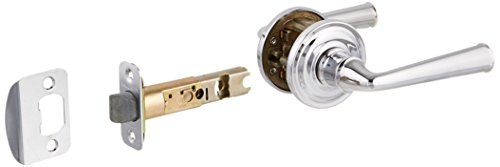 Baldwin PSFEDTRR260 Reserve Passage Federal with Traditional Round Rose in Bright Chrome Finish