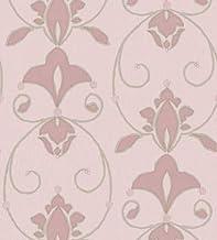 PVCWallpaper Pink-silver106 cm x 15.6 m