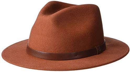 BRIXTON Messer Fedora Headwear, Picante, XS