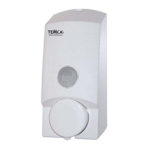 CLIVIA basic 80 Seifenspender Wandmontage - Farbe: Weiß - Wandseifenspender mit Vorratsanzeige - frei nachfüllbar