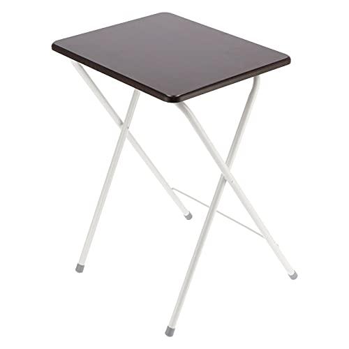XQAQX Beweglicher Schreibtisch, Klappbarer Schreibtisch, Klappbarer Tisch Kein Zusammenbau Beistelltisch Beweglicher Schreibtisch für die Verwendung im Wohnzimmer/Schlafzimmer