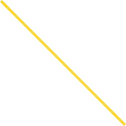 "Aviditi PBT9Y Paper Twist Ties, 9"" x 5/32"", Yellow (Pack of 2000)"