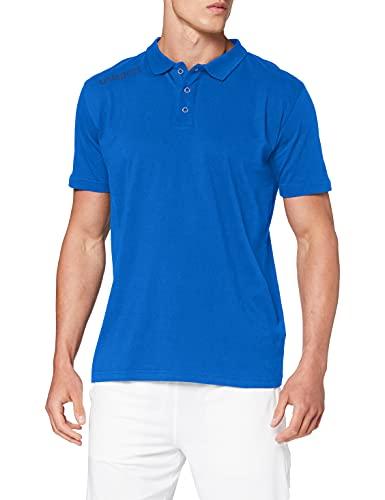uhlsport Essential Polo Shirt, Bleu Ciel, XL Homme