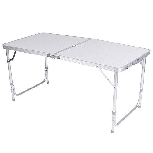 Nowy 4ft składany stół koziołek Camping Party piknik grill stragan Graden kryty wielofunkcyjne biurko komputerowe