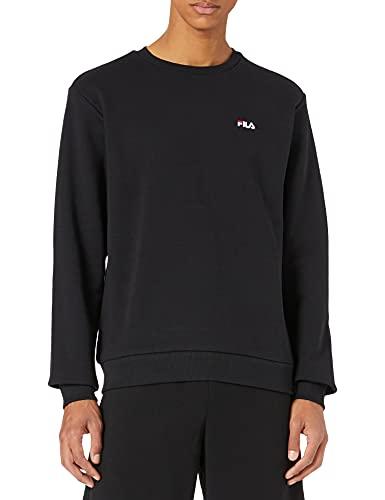 FILA Bluza męska EFIM Crew Sweat 688164 czarna 002 Black