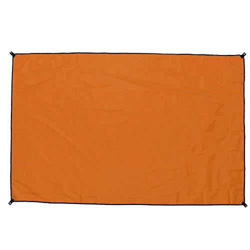 KYEEY Vela De JardínToldo Impermeable del Refugio De La Lluvia De La Sombrilla De La Lona De La Tienda De Campa?a Al Aire LibreToldos De Jardín (Size:210 X 150cm; Color:Orange)