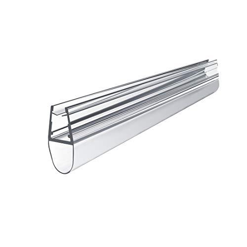Ersatzdichtung Wasserabweiser Duschdichtung Schwallschutz Duschkabine Bad 4-6mm Glas 100cm