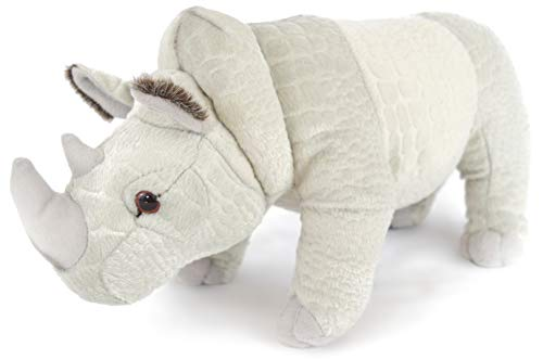 Ramses The Rhino - 12 Inch Stuffed Animal Plush - by Tiger Tale Toys