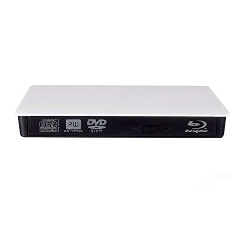 External CD DVD Blu-ray Drive,External Blu-ray 3D BD Player CD   -RW DVD + - RW BD-ROM Burner for MacBook Laptop PC Windows 10 8 7   XP Vista