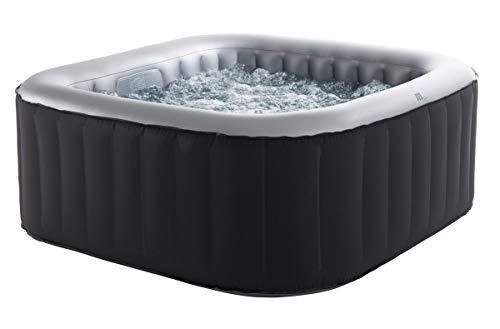 Siphonly - Vasca idromassaggio gonfiabile per 6 persone, SPA 185 x 185 cm, per interni ed esterni, 132 getti massaggianti,...