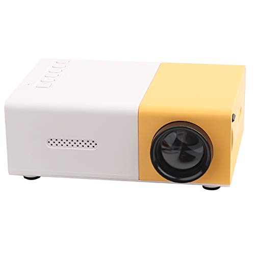Denash Mini proyector portátil HD Home Cinema Proyector LED...