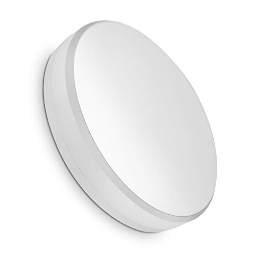 COOLWEST Plafoniera LED 15W Bianco Caldo 3000K 1300lm Impermeabile IP44 Lampade da Plafoniere per Camera da letto, ufficio, corridoio, bagno, ufficio, Balcone