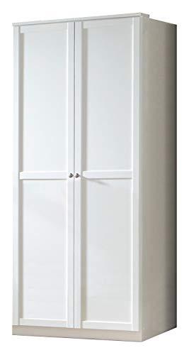 Wimex Kleiderschrank/ Drehtürenschrank Filou, (B/H/T) 90 x 198 x 58 cm, Weiß