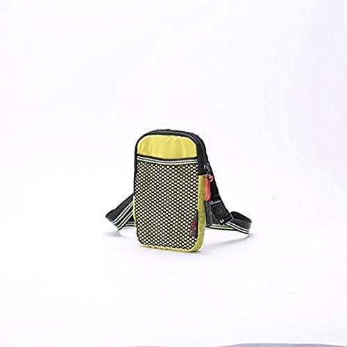 Vbtsqp 16 cm Handytasche Umhängetasche Freizeit Reisetasche Sport Handytasche Super weiche Nylon Multicolor Tide Walk ReiseHandgelenk Messenger Bag