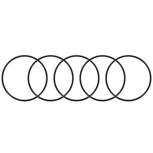 sourcing map 5stk. O-Ring Nitril Gummi Dichtungsringe Dichtung 64mm x 70mm x 3mm DE de