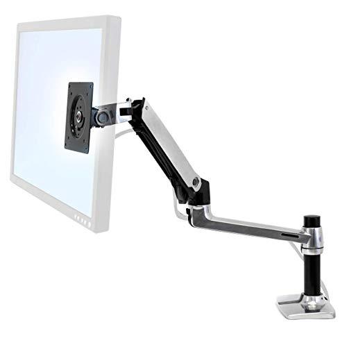 ERGOTRON LX Monitor Arm in Aluminium - Monitor Tischhalterung mit patentierter CF-Technologie für Bildschirme bis 34 Zoll und 33cm Höhenverstellung