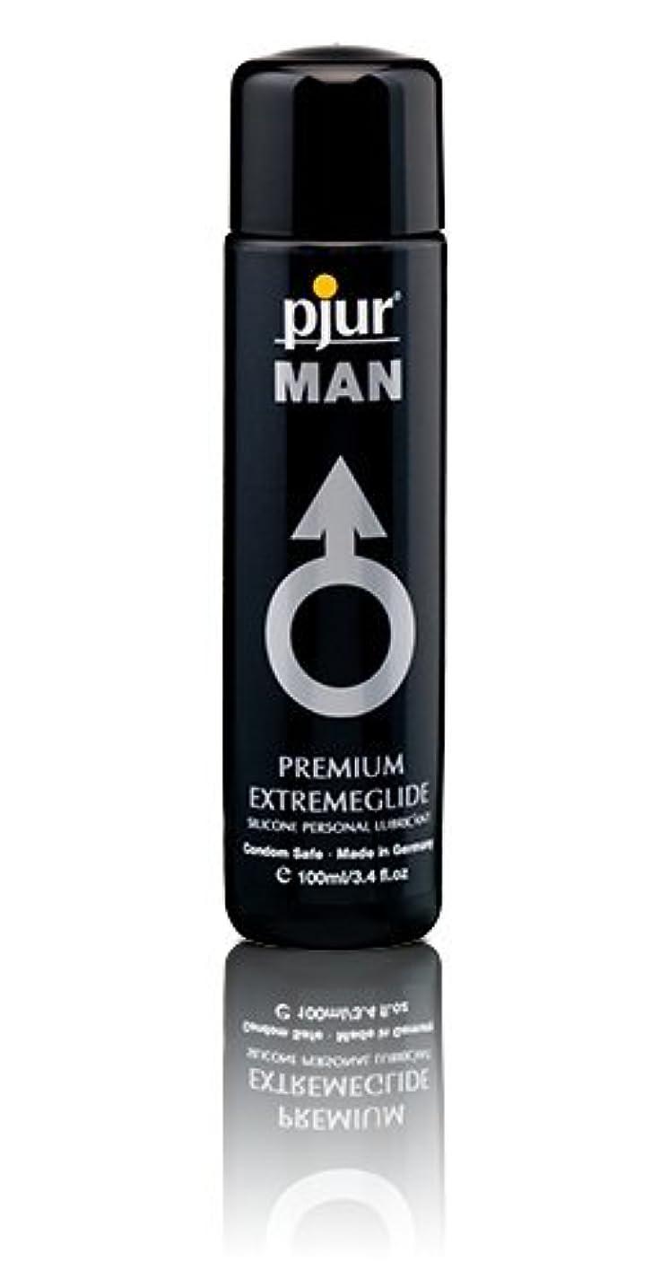 法令モーターバラバラにするPjur Man Extremeglide Flasche Lubricant - 100ml
