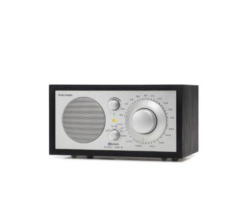 Tivoli Audio M1BTSLB Model One BT Bluetooth AM/FM Radio (Black Ash/Silver) 並行輸入