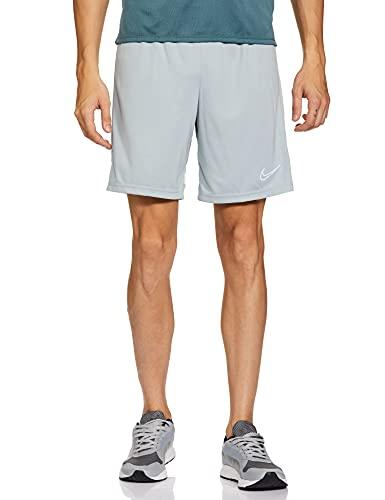 Nike Herren Short Dri-fit Academy, Light Pumice/White/White/White, CW6107-019, M