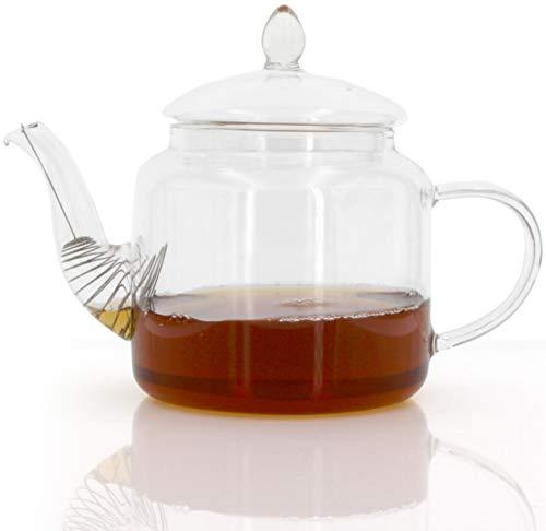 1aTTack.de theepot theepot karaf thee thee thermoglas voor warme en koude dranken