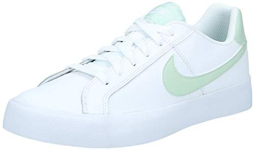 Nike Damen Court Royale Ac Sneaker, Weiss/Pistachio Frost, 36.5 EU