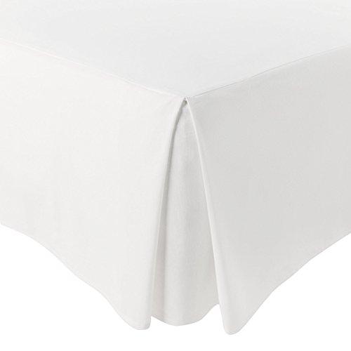 Jarrous Cubre Canapé Modelo Pierre, Color Blanco, Medida para Cama de 150