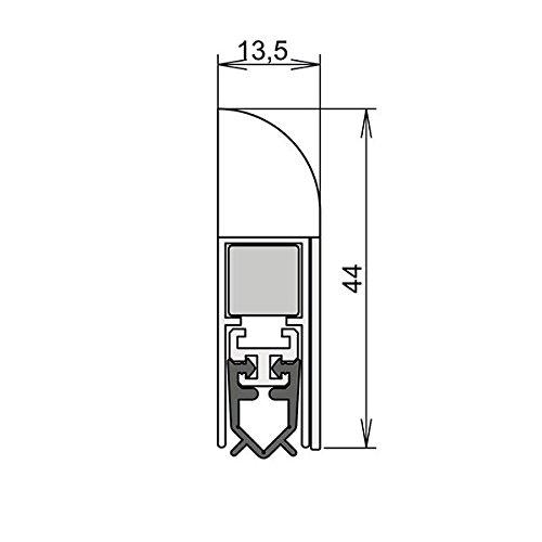 Athmer Türdichtungen Wind-EX | Farbe: weiss | Länge (mm): 735