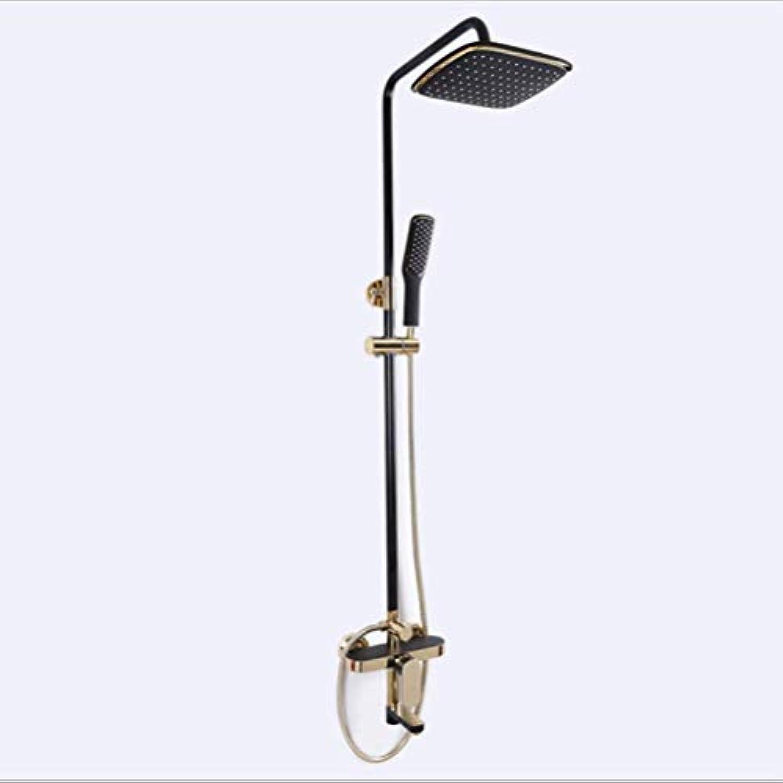 CF Duschset Vollkupfer Handbrause Multi-Funktion einstellbar Bad Dusche Dusche