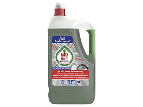 Detergente lavavajillas manual Dreft Regular, botella de 5 litros