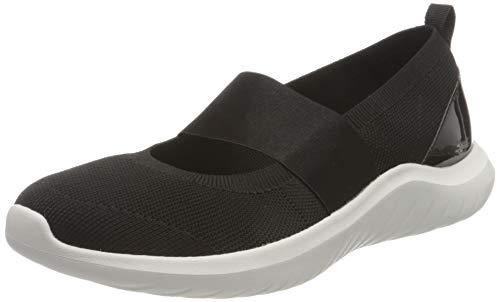 Clarks Nova Sol, Zapatillas Mujer, Punto Negro, 39.5 EU