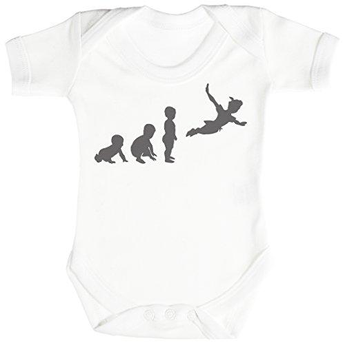 Baby Evolution to Pan Body bébé - Gilet bébé - Body bébé Ensemble-Cadeau - Naissance Blanc
